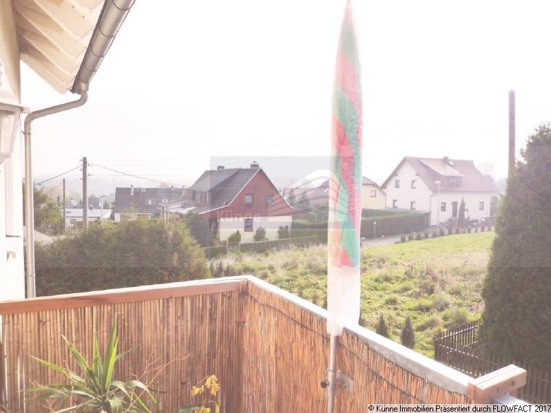 Blick vom Balkon, Pfaffengrün/Treuen (Treuen)