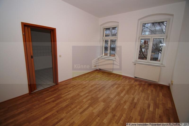 Wohnzimmer mit Blick zur Küche, Halle (Innenstadt), Pfännerhöhe 43