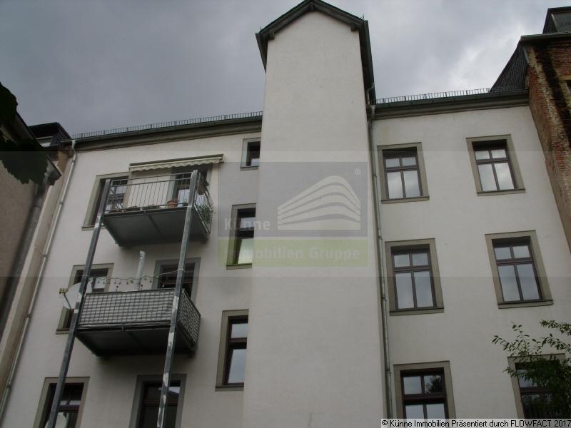 Fassade Rückseite, Chemnitz (Zentrum)