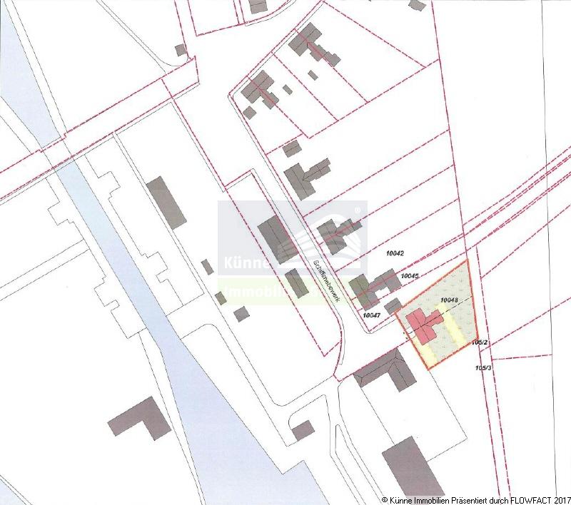 Lageplan, Magdeburg (Rothensee)